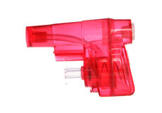 Red water pistol Royalty Free Stock Photography