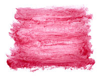 Red watercolor background Stock Photo