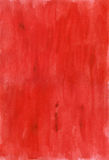 Red watercolor paper Royalty Free Stock Photos