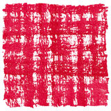 Red Watercolor Square Crosshatched Frame Border Royalty Free Stock Photo