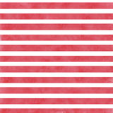 Red watercolor stripes Stock Image