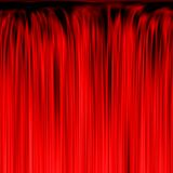 Red waterfall or curtain texture Royalty Free Stock Photo