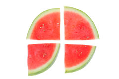 Red Watermelon Royalty Free Stock Photography