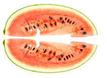 Red watermelon Stock Images