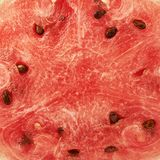 Red watermelon flesh fragment Royalty Free Stock Images