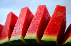 Slices of red watermelon Royalty Free Stock Photo