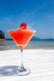 Red mocktail drink Stock Photography