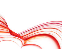Red wave Royalty Free Stock Images
