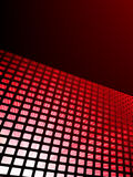 Red waveform vector background. EPS 8 Stock Photo