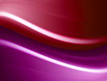 Red waves Royalty Free Stock Photos