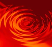 Red waves Royalty Free Stock Images