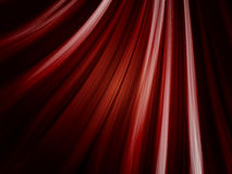 Red Waves Background on Black Royalty Free Stock Photo