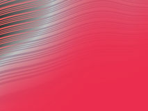 Red wavy abstract background Royalty Free Stock Images