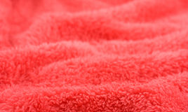 Red wavy background Stock Photo