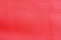 Red weave leatherette stock photo