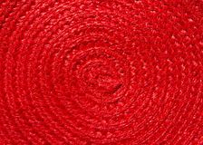 Red weave pattern. Or background Stock Photography