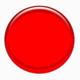 Red web button Stock Images