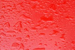 Red Wet Stock Image