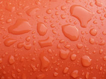 Red and wet surface Royalty Free Stock Image