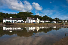 Red Wharf Bay Royalty Free Stock Photo