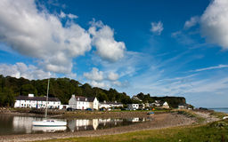 Red Wharf Bay Stock Photography