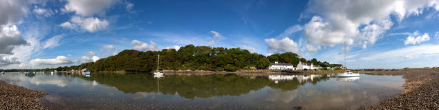 Red Wharf Bay Royalty Free Stock Image