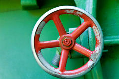 Red wheel Royalty Free Stock Image