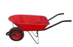 Red Wheelbarrow Stock Photography