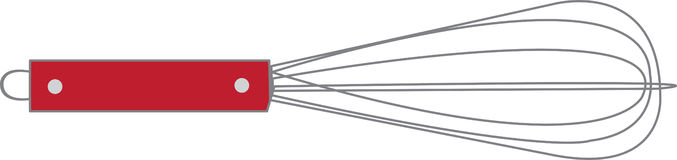Red Whisk Stock Images