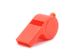 Red Whistle Stock Photos