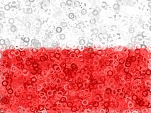 Red White Abstract Background Stock Image
