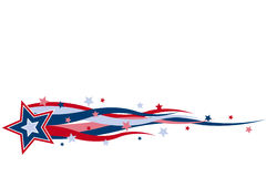 Red White And Blue Banner Stock Images
