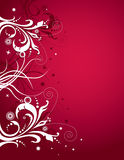 Red and white background Royalty Free Stock Image