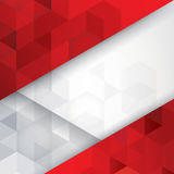 Red and white background vector. Can be used in cover design, book design, website background, CD cover, advertising Stock Photos