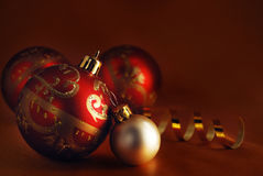 Red and white balls Royalty Free Stock Images