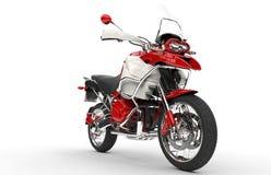 Red And White Bike Stock Photo