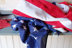 Red white and blue Stock Images