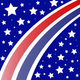 Red White Blue Background Stock Photography