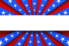 Red, white, and blue background Stock Photography
