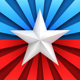 Red, white, and blue background Stock Images