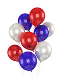 Red, white, blue balls Stock Image