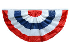 Red White and Blue Banting Royalty Free Stock Images