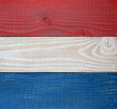 Red White and Blue Boards Background Royalty Free Stock Image