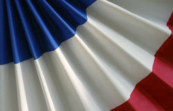 Red white and blue bunting Horizontal Royalty Free Stock Image