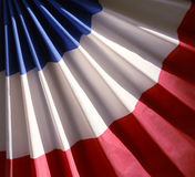 Red white and blue bunting Royalty Free Stock Image