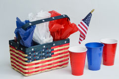 Fourth of July Picnic Royalty Free Stock Photo