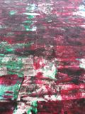 Red colored paint abstract background. Red White Blue colour colours background painting Stock Photos