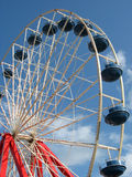 Red, White, and Blue Ferris Wheel Royalty Free Stock Image
