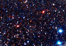 Red White and Blue Glitter 3 Royalty Free Stock Photo