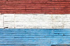 Red, White and Blue Paint Stock Images